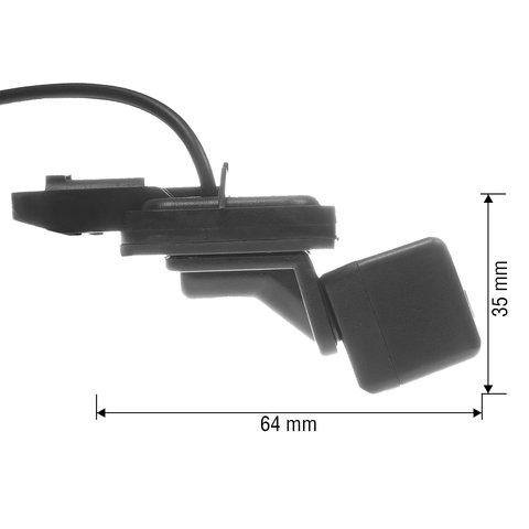Камера заднего вида в ручку багажника для Mercedes-Benz B, E-класса Превью 2