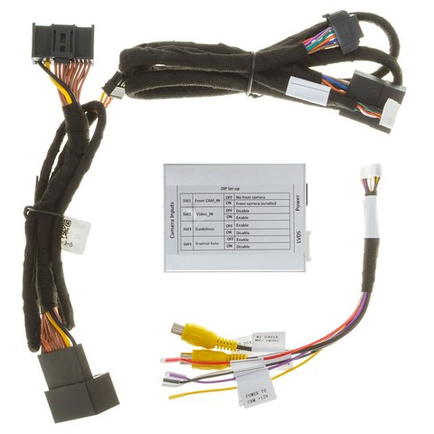 Front and Rear View Camera Connection Adapter for Cadillac/Buick Preview 4