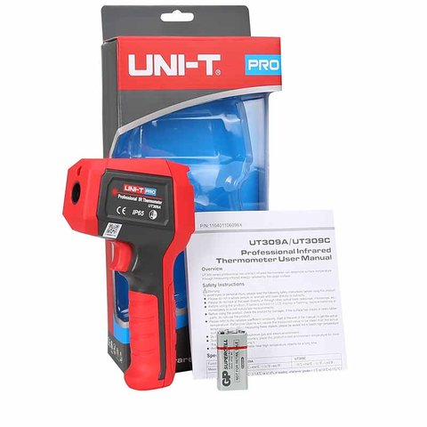 Infrared Thermometer UNI-T UT309A Preview 4